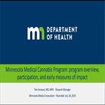 Cannabliss or Cannabust? Three Years of Medical Cannabis in Minnesota