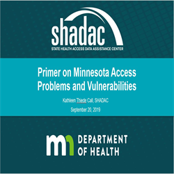 MMA 2019 Annual Conference Recording: Primer on Vulnerabilities