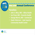 MMA 2019 Annual Conference Recording: Health System Panel Discussion